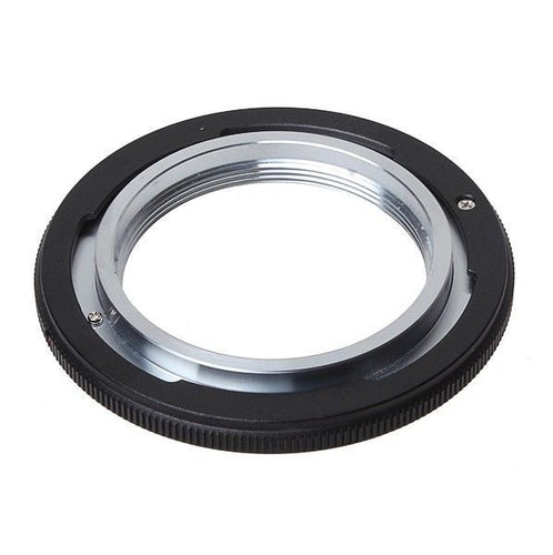 Black Metal M42 Lens to Canon FD Mount Lens Adapter Ring - Photography Stop Ireland