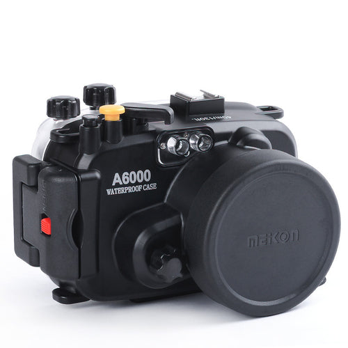 Sony A6000 16-50mm Lens Meikon 40M 130ft Waterproof Underwater Housing Case Cover Camera Diving Swimming - Photography Stop Ireland