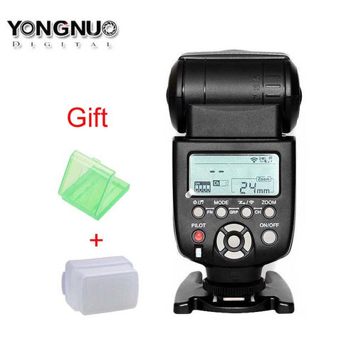Yongnuo YN560III Wireless Flash Speedlite for Canon 1100D 650D 500D 550D 50D 60D for Nikon D800 D600 D610 D5000 D3000 D90 D3100 - Photography Stop Ireland