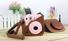 Leather Camera Shoulder Strap Bag Protect Case Pouch For Fujifilm Instax Mini 9 and mini 8 - Photography Stop Ireland