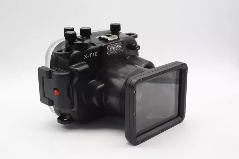 Waterproof Underwater Diving Camera Housing Case for Fujifilm Fuji X-T10 XT10 16-50mm lens - Photography Stop Ireland