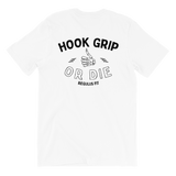 Vintage Hook Grip White T