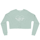 Buff Babes Club Crop Sweatshirt