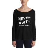 Never Quit Flowy Long Sleeve Shirt
