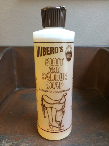Huberd's Saddle Soap & Conditioner