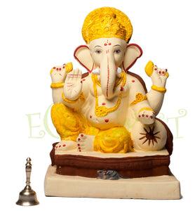 010: Eco Ganesh Idol: Single Lodh 14""