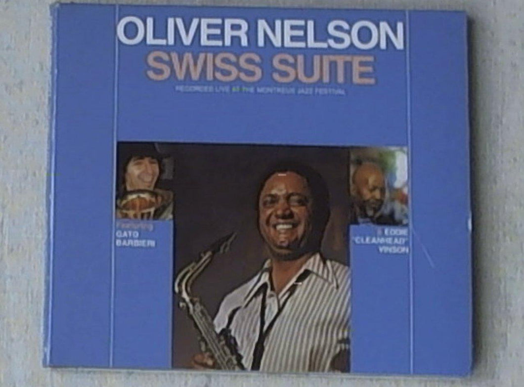 Cd - Oliver Nelson - Swiss Suite
