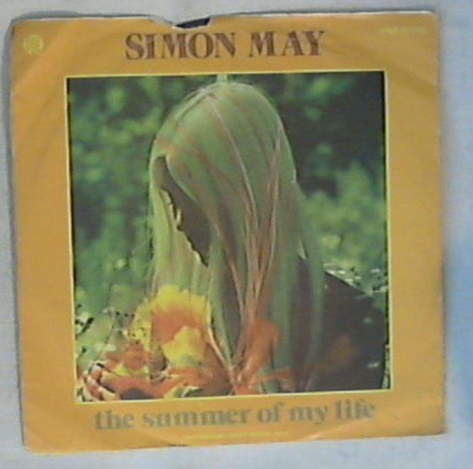 45 giri - 7'' - Simon May - The Summer Of My Life