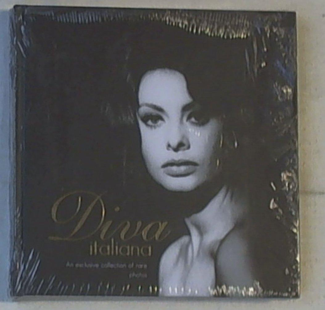 Diva italiana. An exclusive collection of rare photos. Con CD Audio. Ediz. italiana e inglese Nuovo E Sigillato