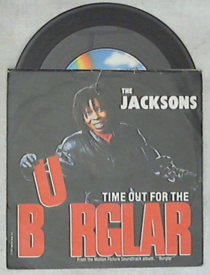 45 giri - 7'' - The Jacksons / The Distance - Time Out For The Burglar