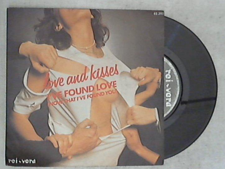45 giri - 7'' - Love And Kisses - I've Found Love (Now That I've Found You) / Accidental Lover