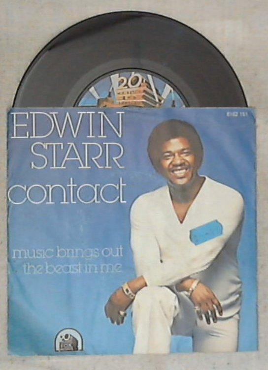 45 giri - 7'' - Edwin Starr - Contact / Music Brings Out The Beast In Me