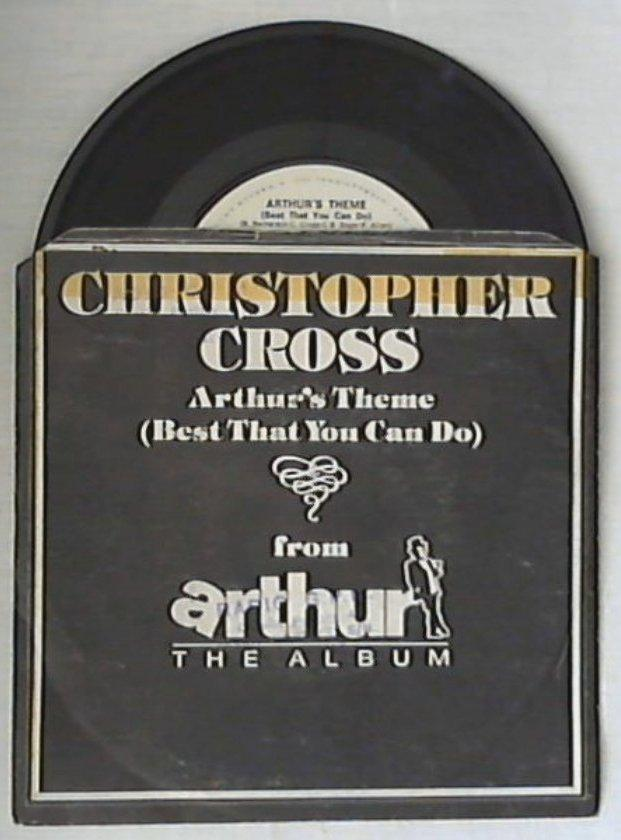 45 giri - 7'' - Christopher Cross - Arthur's Theme (Best That You Can Do)
