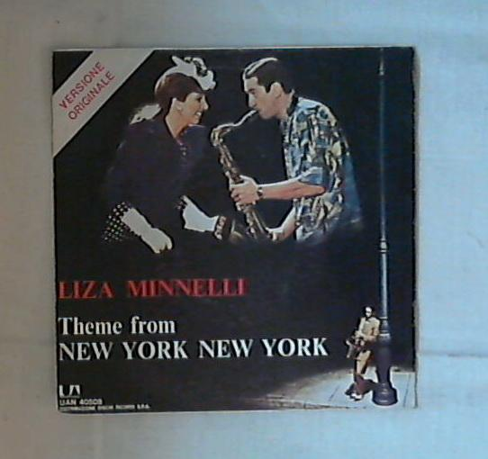 45 giri - 7'' - Liza Minnelli / Ralph Burns And His Orchestra - New York, New York / Hazoy