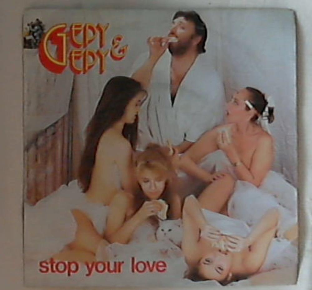 45 giri - 7'' - Gepy & Gepy - Stop Your Love