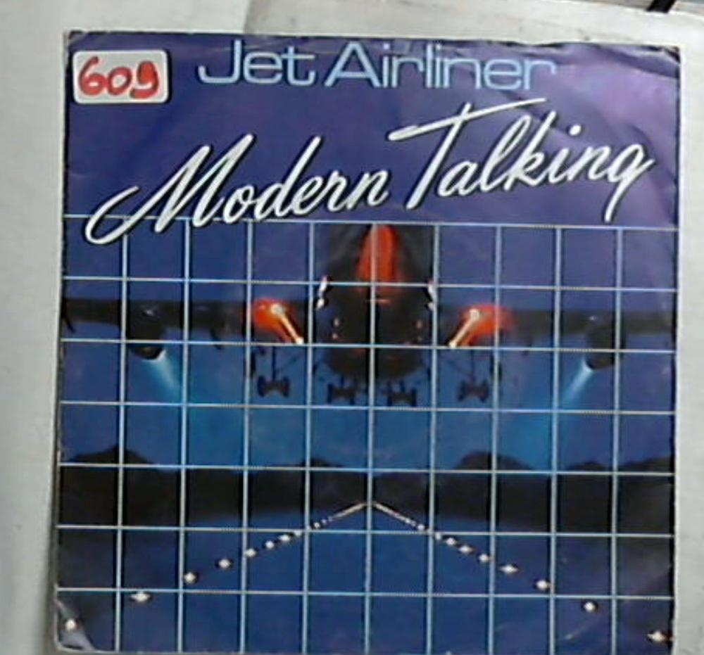 45 giri - 7'' - Modern Talking - Jet Airliner