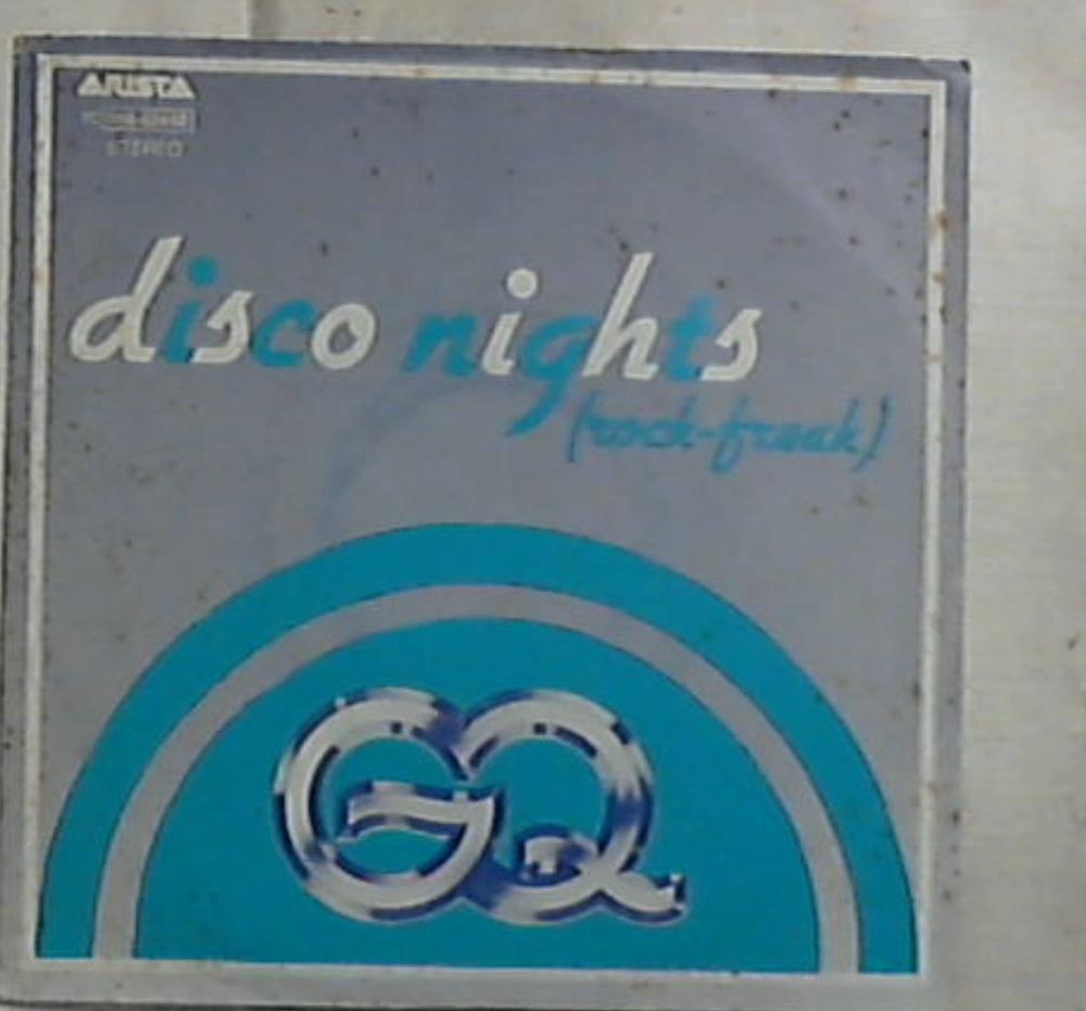 45 giri - 7'' - GQ - Disco Nights (Rock-Freak) / Boogie Oogie Oogie