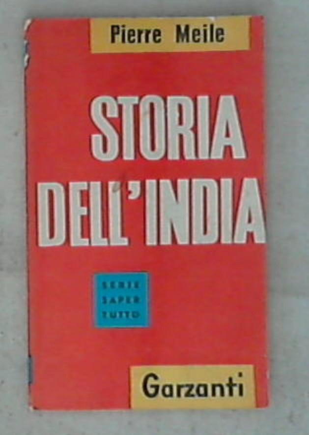 Storia dell'India / Pierre Maile