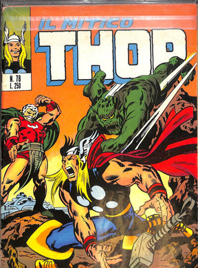 Fumetto - THOR e i Vendicatori 78 Editoriale Corno