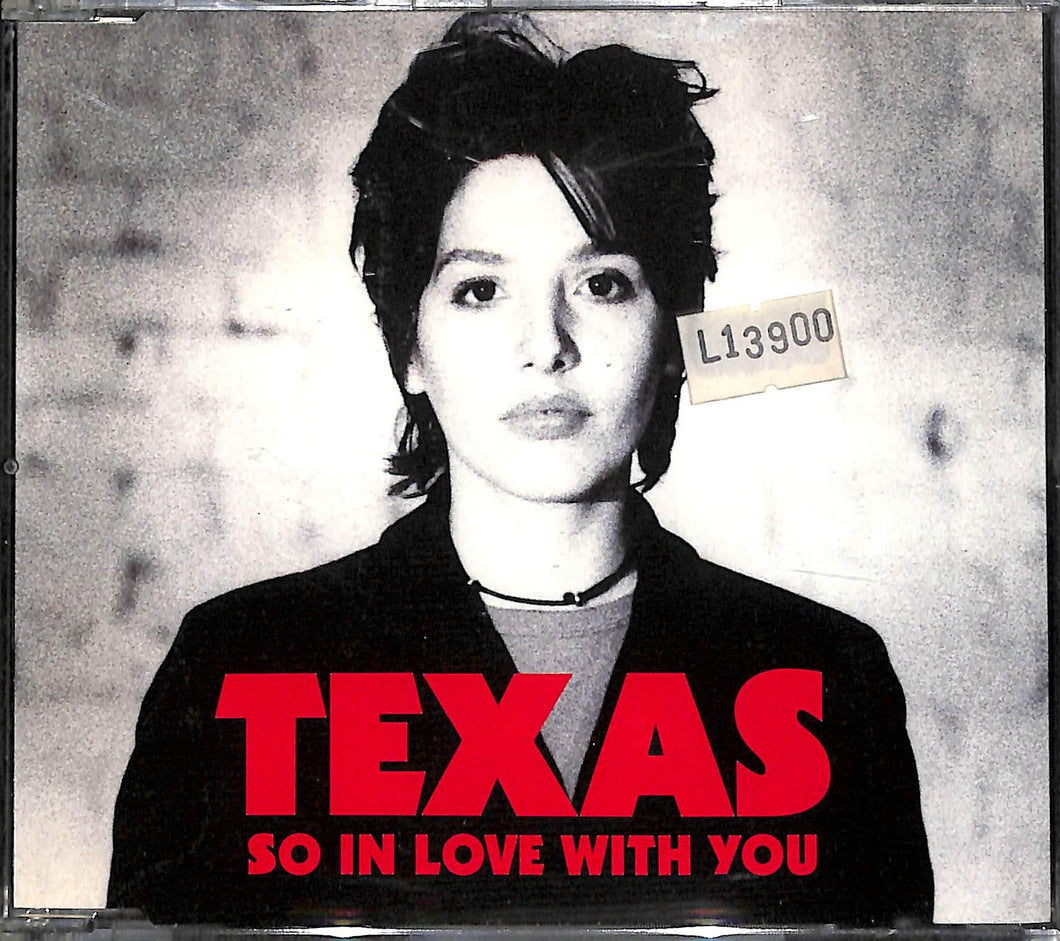 Cd Single  - Texas - So In Love With You