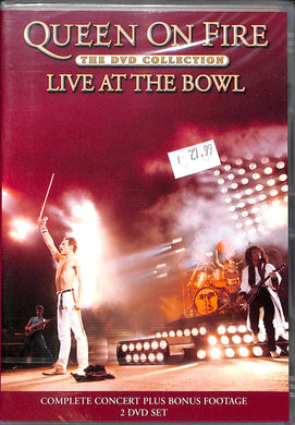 Dvd - Queen - On Fire - Live At The Bowl (2 Dvd)