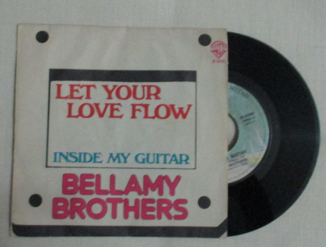 45 giri - 7'' - Bellamy Brothers - Let Your Love Flow