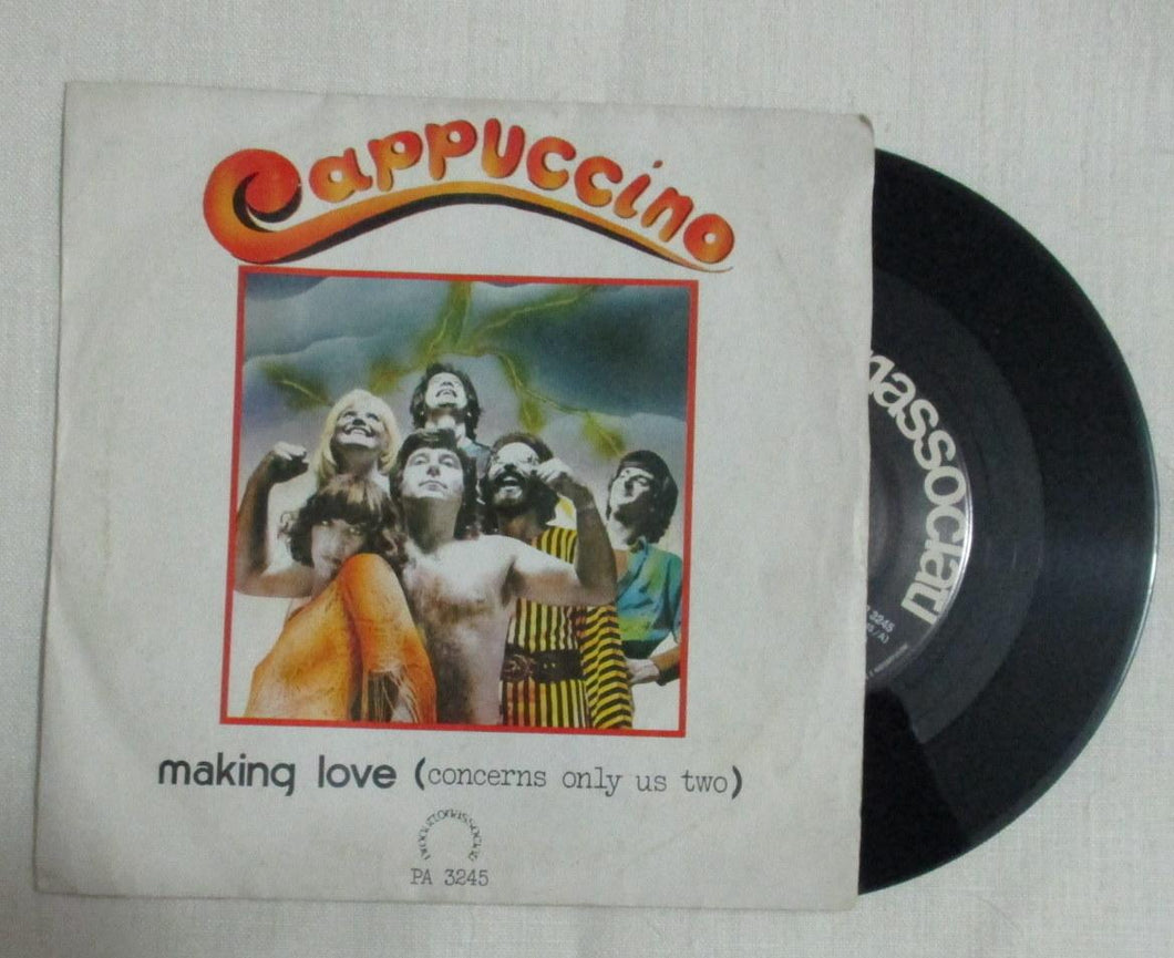 45 giri - 7'' - Cappuccino - Making Love / Banana Boat No More