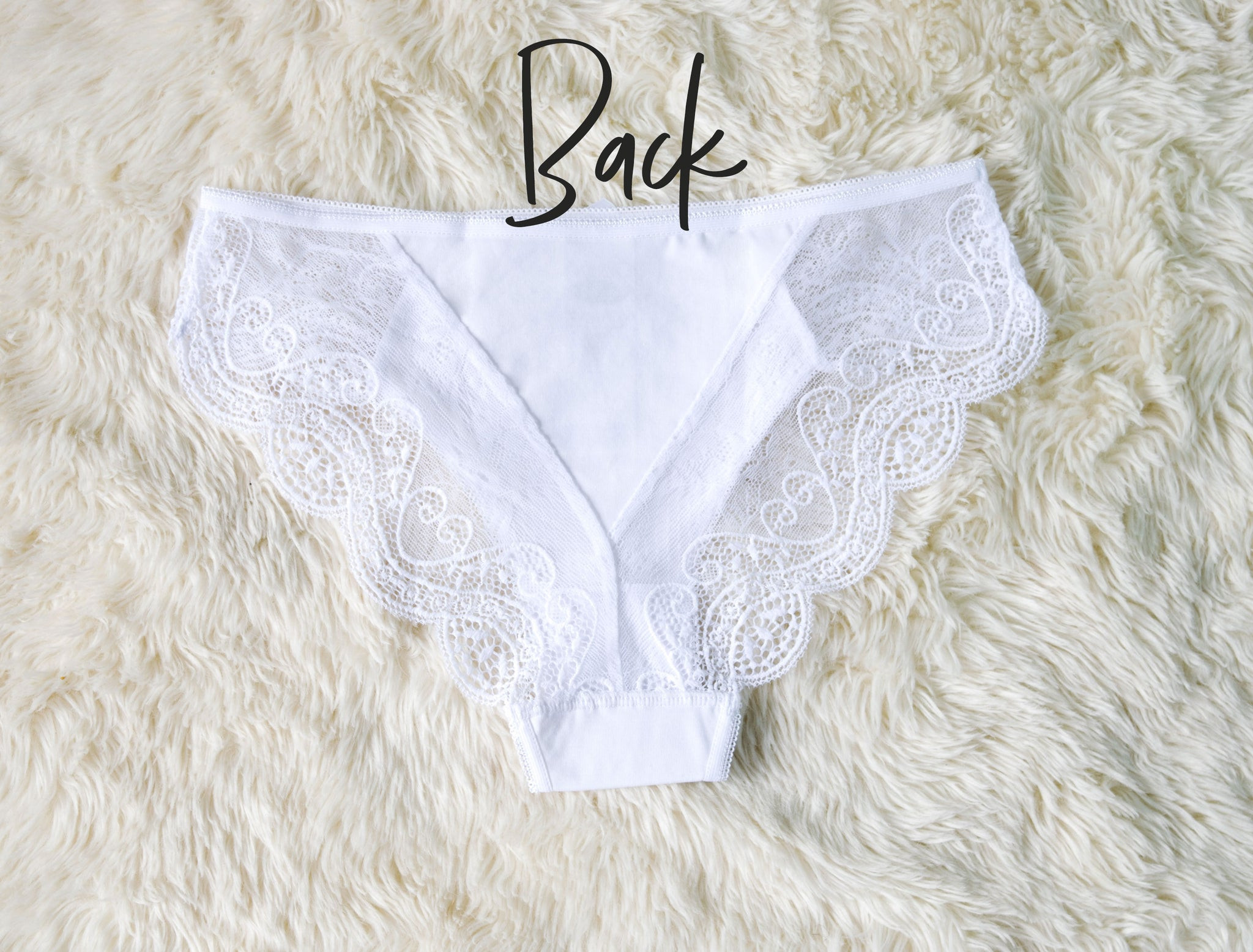 70ecb8ce9 Personalized Bride Panties – With Love   Luxe