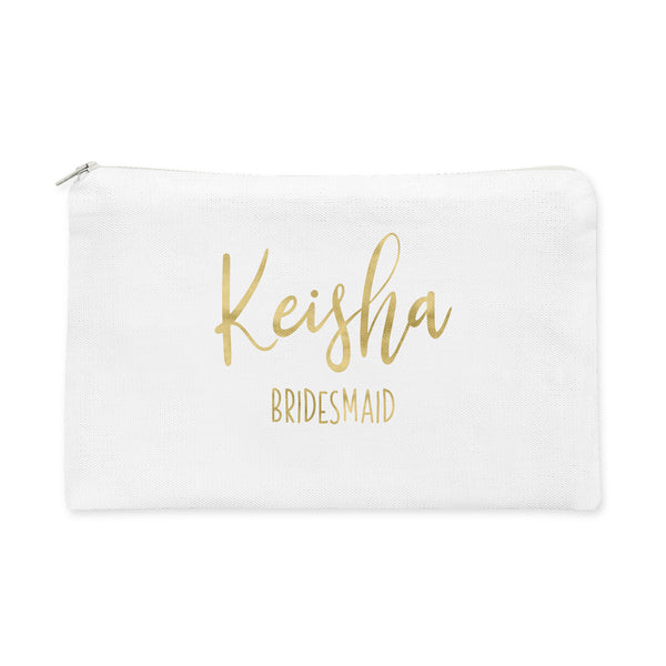 Bridal Party Makeup Bag