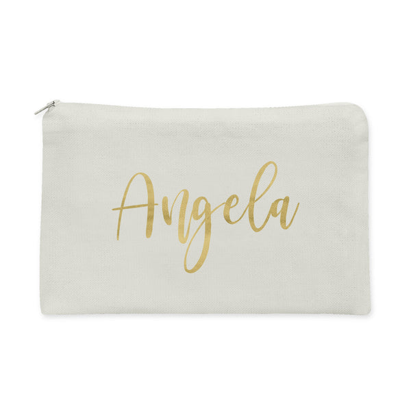 Personalized Bridesmaids Makeup Bag