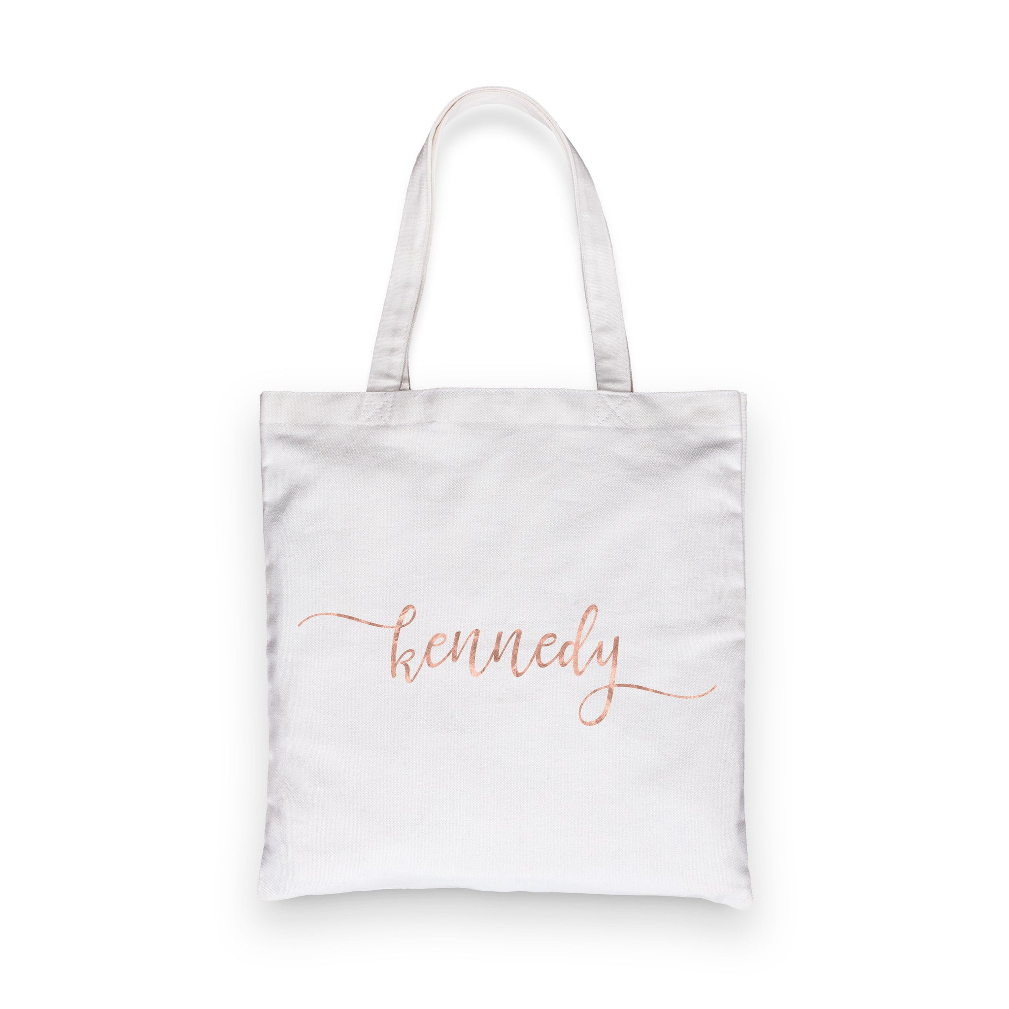 Swash Personalized Bridesmaid Tote Bag
