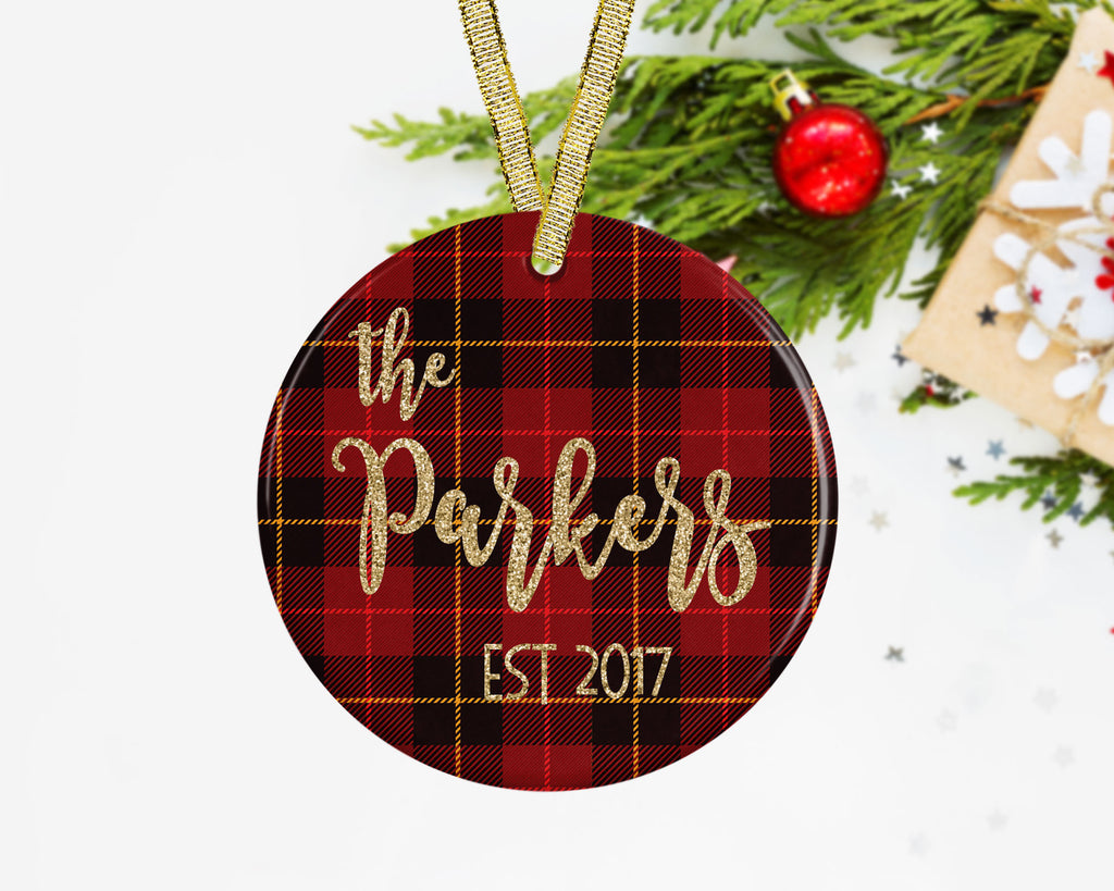 personalized newlywed christmas ornament newlywed ornament