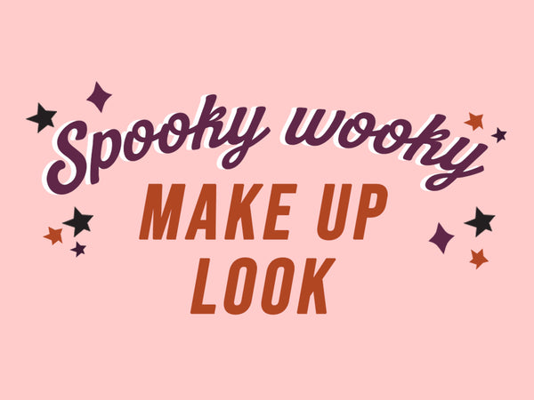 SPOOKY WOOKY MAKE UP LOOK
