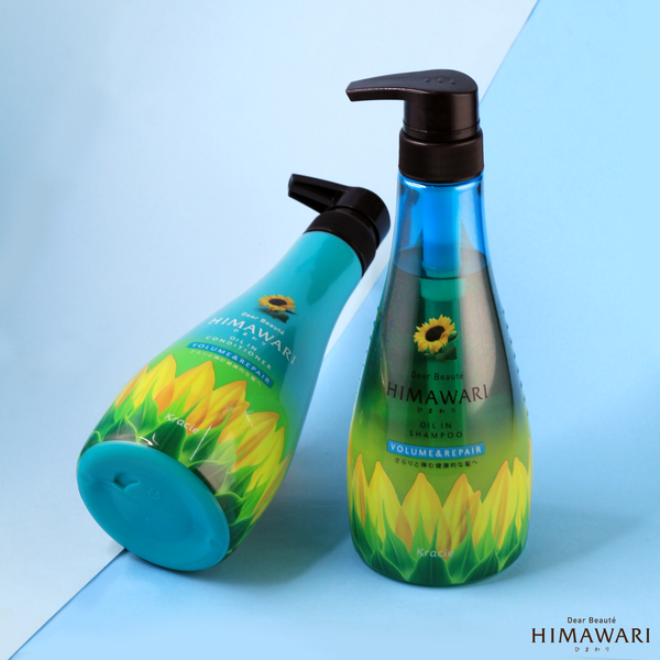 Himawari Volume and Repair Shampoo and Conditioner