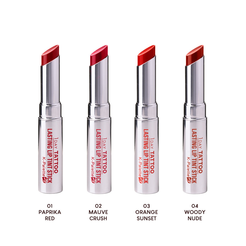 NEW! K-Palette Lasting Semi-Matte Lip Tint Stick (Full Set)