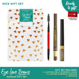 Eye Love Brows Nice Makeup Gift Set (2Way Eyebrow Liner + Eyebrow Mascara)