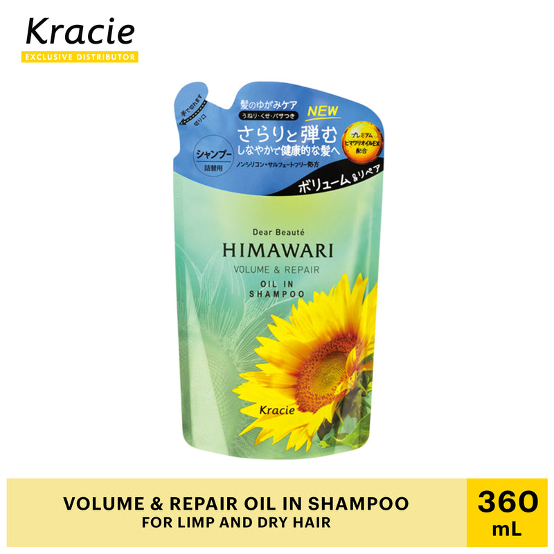 Himawari Dear Beaute Volume and Repair Oil in Shampoo