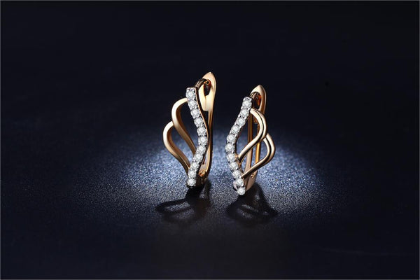 Golden Butterfly Earring - TIAMERO STORY