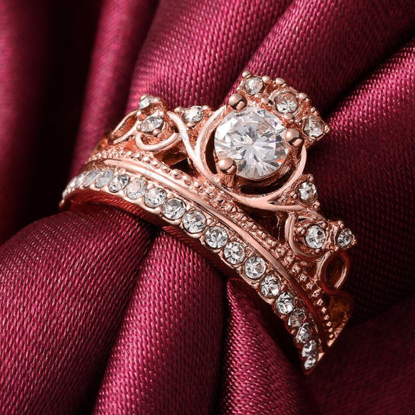 50% OFF+ Free Shipping! Royal Queen Crown Ring