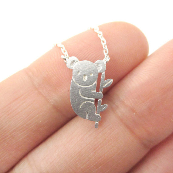 Koala Bear Necklace - TIAMERO STORY