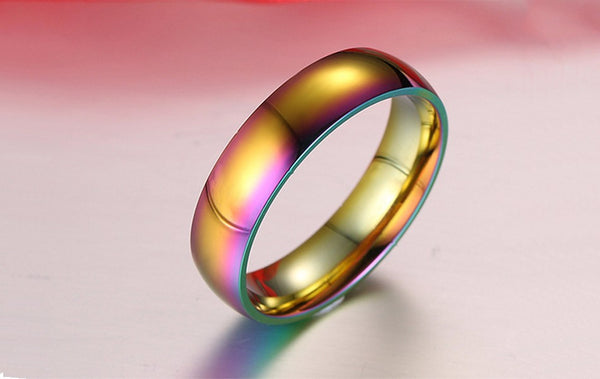 Rainbow Colorful Ring - TIAMERO STORY