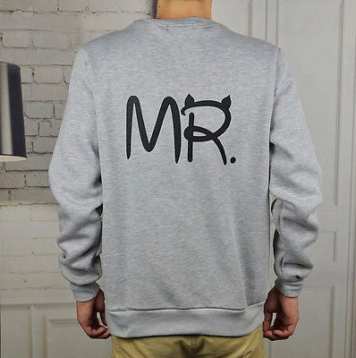 MR & MRS Long Sleeve Couple Clothes - TIAMERO STORY