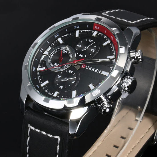 CURREN Luxury Quartz Wristwatch