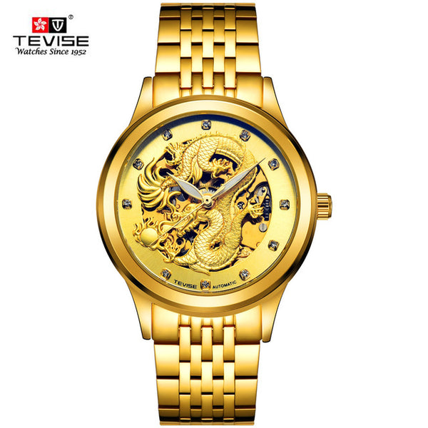 Get This Automatic Golden Dragon Watch For Half Price!!! While Stock Last Only!!!