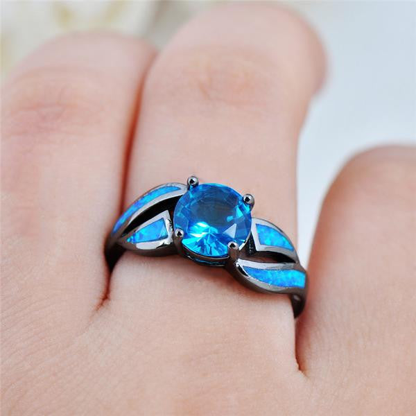 Best Seller - Fire Opal Ring Is On Sale! 50% OFF + Free VIP Shipping