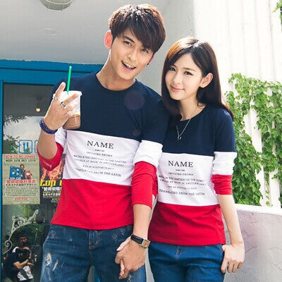 Long Sleeve Couple T Shirt - TIAMERO STORY