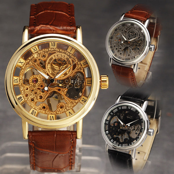 50% OFF!! Grab This Classic Skeleton Watch for 50% OFF! ! Limited time ONLY!!