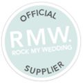 Blossom and Bluebird is a Rock My Wedding Official Supplier