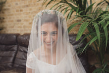 Soft tulle drop veil, soft silky drop veil, English Net drop veil, Kate Middleton veil, fingertip, chapel, cathedral length - 'THERESE'