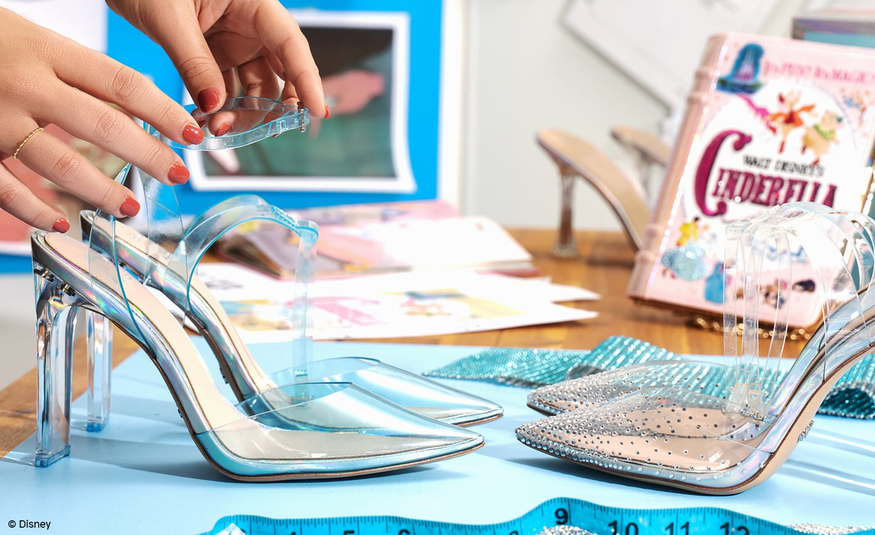 Designing the Disney x ALDO Cinderella Collection